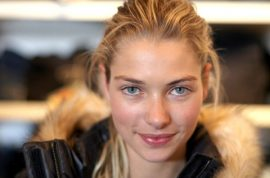 Super model Jessica Hart said to want carry on brawl with Adam Hock posse on the street.