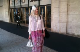 IMG Mercedes Fashion Week begins and the celeb whores are in force.