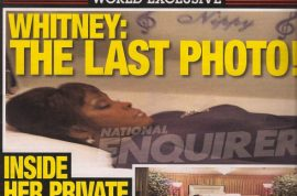 Finally what you have been waiting for: Whitney Houston's casket photo.