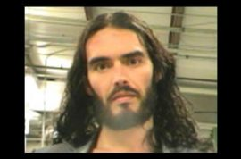 Russell Brand would like you to know he's still news worthy