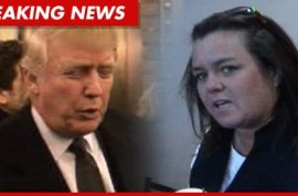 Rosie O' Donnell is a 'loser' reckons Donald Trump.