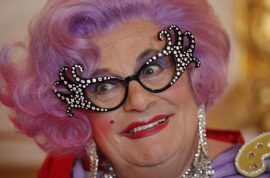 Australia's Dame Edna to finally call it a day possums….