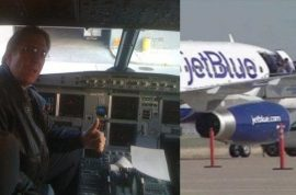 Jet Blue's Clayton Osbon said to be ranting religious sermons freaking co pilot out.