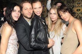 The jet set take Paris Fashion week by storm at famed Le Regine.