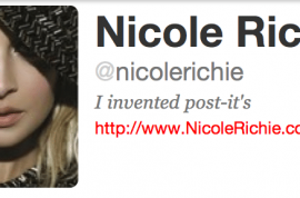 Nicole Richie would like you to notice her titties please…