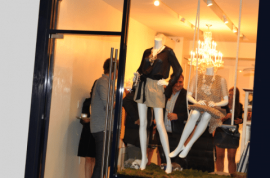 Alexander Berardi Soho boutique have their mascot bunny stolen by thieves in cowboy hats.