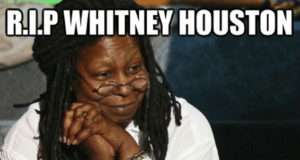 Whitney Houston Whoopi Goldberg