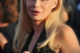 French actress, Emmanuelle Beart's beauty ruined by botched plastic surgery.