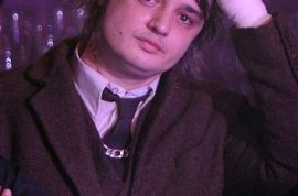 Pete Doherty re emerges as his bloated self.