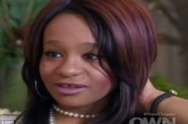 Whitney Houston's daughter tells Oprah Winfrey she wants to be a singer.