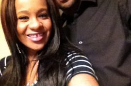 Whitney Houston's daughter insists she is not engaged to her 'adopted brother.'