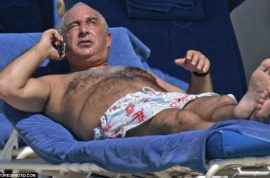 Sir Philip Green celebrates his 60th birthday with lavish rent a celeb and $75 hamburgers.