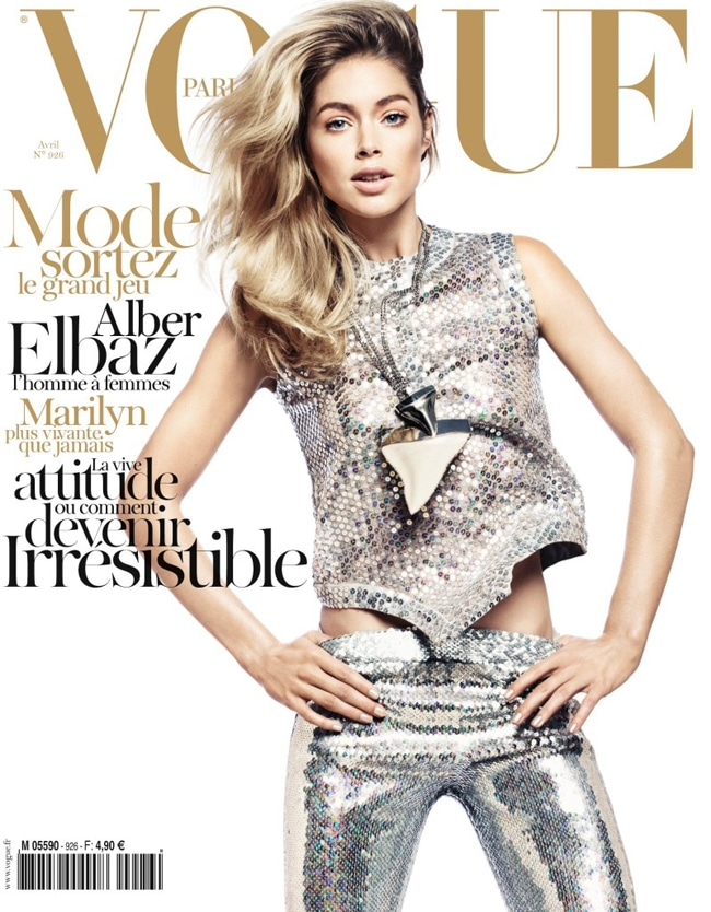 Doutzen Kroes for Paris VOGUE