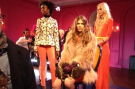 Juicy Couture 2012 fall presentation and how the divas flocked…