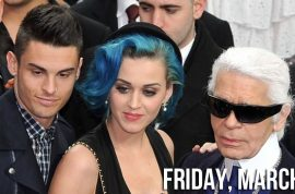 Is Katy Perry dating Karl Lagerfeld's rent a boy toy?