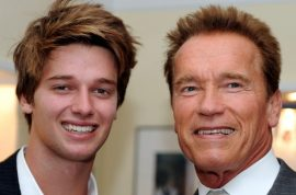 Patrick Schwarzenegger would like you to know he still looks like a hunk after his skiing accident.