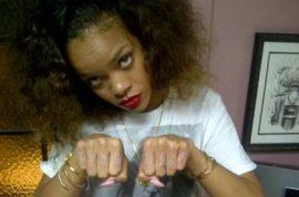 Rihanna targets Karrueche Tran with racial slur