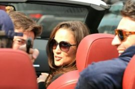 Pippa Middleton gun photo unlikely to lead to jail, but quickly wipes her smirk off.
