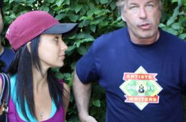 Alec Baldwin and his fiance now take turns mocking stalker on twitter.