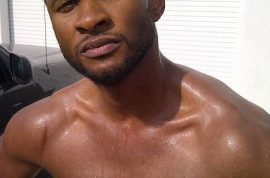 Usher would like to remind you that he did not die in a car crash today.