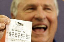 Illinois couple step up to claim their $218 million share. Spent entire lives in remote town….