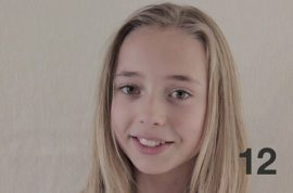 Heart rendering time lapsed video captures film maker's 12 year old daughter's growth spurt in 2 minutes and 35 seconds.