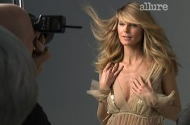 Heidi Klum wants to show you how to pull off a 'blowjob.'