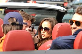 Will a smirking Pippa Middleton cop criminal charges in gun case?