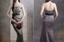 Can you see Vera Wang's model waist? Neither can we?