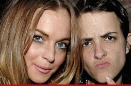 Lindsay Lohan and Samantha Ronson: These two bixches insist they're not back together.