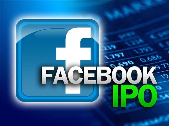 Facebook IPO launch