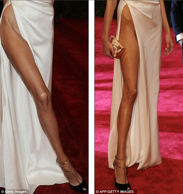 Anja Rubik Turns Up To Met Ball Wearing No Underwear And