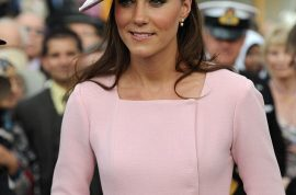Oh my! Kate Middleton wears 1200 pound designer dress second time in a week