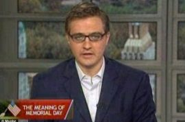Disgust as TV host is reluctant to call fallen soldiers as heroes.