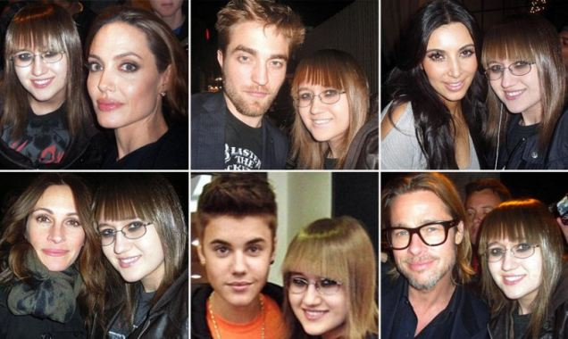Stalker Sarah's 5000 plus photo album with celebrities.
