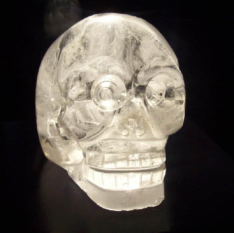The Paris Crystal Skull