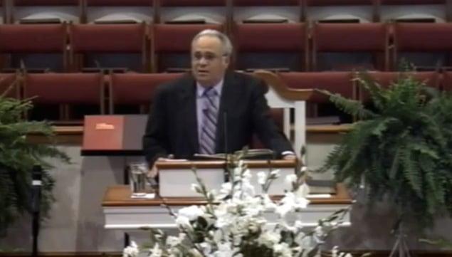 North Carolinian pastor Charles Worley