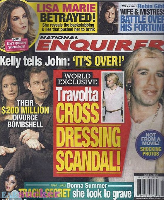 John Travolta -National Enquire