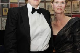 Cynthia Nixon finally marries her hawt bixch.