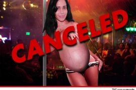 Octomom backs out of topless strip club gig after threats.