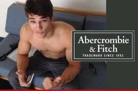 Model files $1 million lawsuit against Abercrombie and Fitch for forcing him to masturbate for shoot.