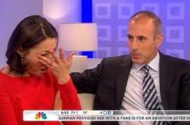 Ann Curry Fired: Matt Lauer and his crocodile tears.