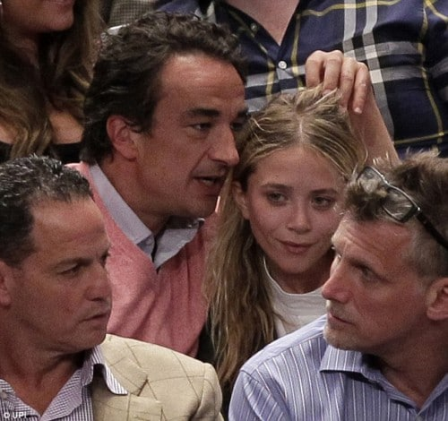 Olivier Sarkozy and Mary Kate Olsen