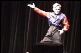 OMG! Ryan Gosling as a child performer dancing to C+C Music Factory.