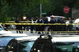 Drug deal gone bad. Three shot dead outside Columbia University.
