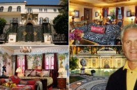 Pictures: Gianni Versace Miami mansion where he was murdered on sale for whopping $125 million.
