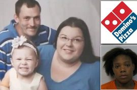 Teenagers stab to death Domino's pizza delivery person.
