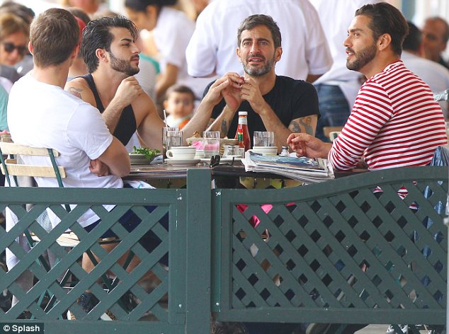 Marc Jacobs, Lorenzo Martone, Harry Louis