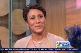 GMA host Robin Roberts announces she has a blood and bone marrow disease.