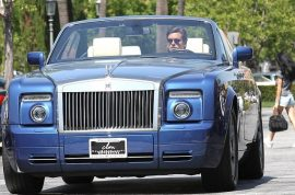 Kardashian star Scott Disick is a hawt bixch in his new Phantom Rolls Royce.
